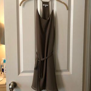 Naked Zebra tie mini dress - S